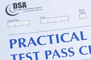 Practical Test Pass Cert - Howells Training